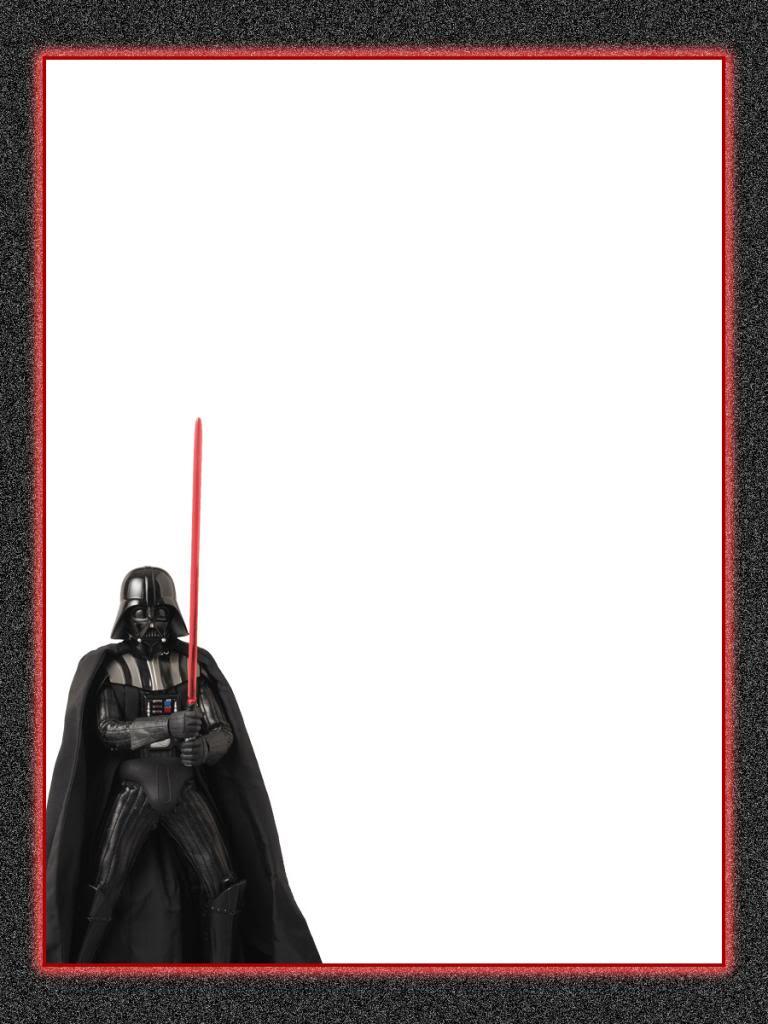 Star Wars clipart border Vader stationary Star Wars Darth