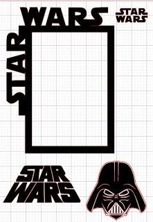 Star Wars clipart border Crafts: War and Planet Lu