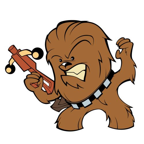 Star Wars clipart chewie Chewbacca collection Clipart Star Free