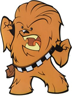 Star Wars clipart chewie Chewbacca Star 3D LED Deco