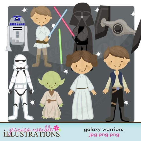 Star art clipart! cute cute