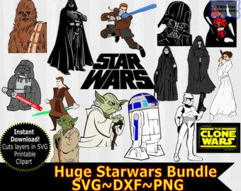 Star Wars clipart cricut Starwars Star Art Clip Art
