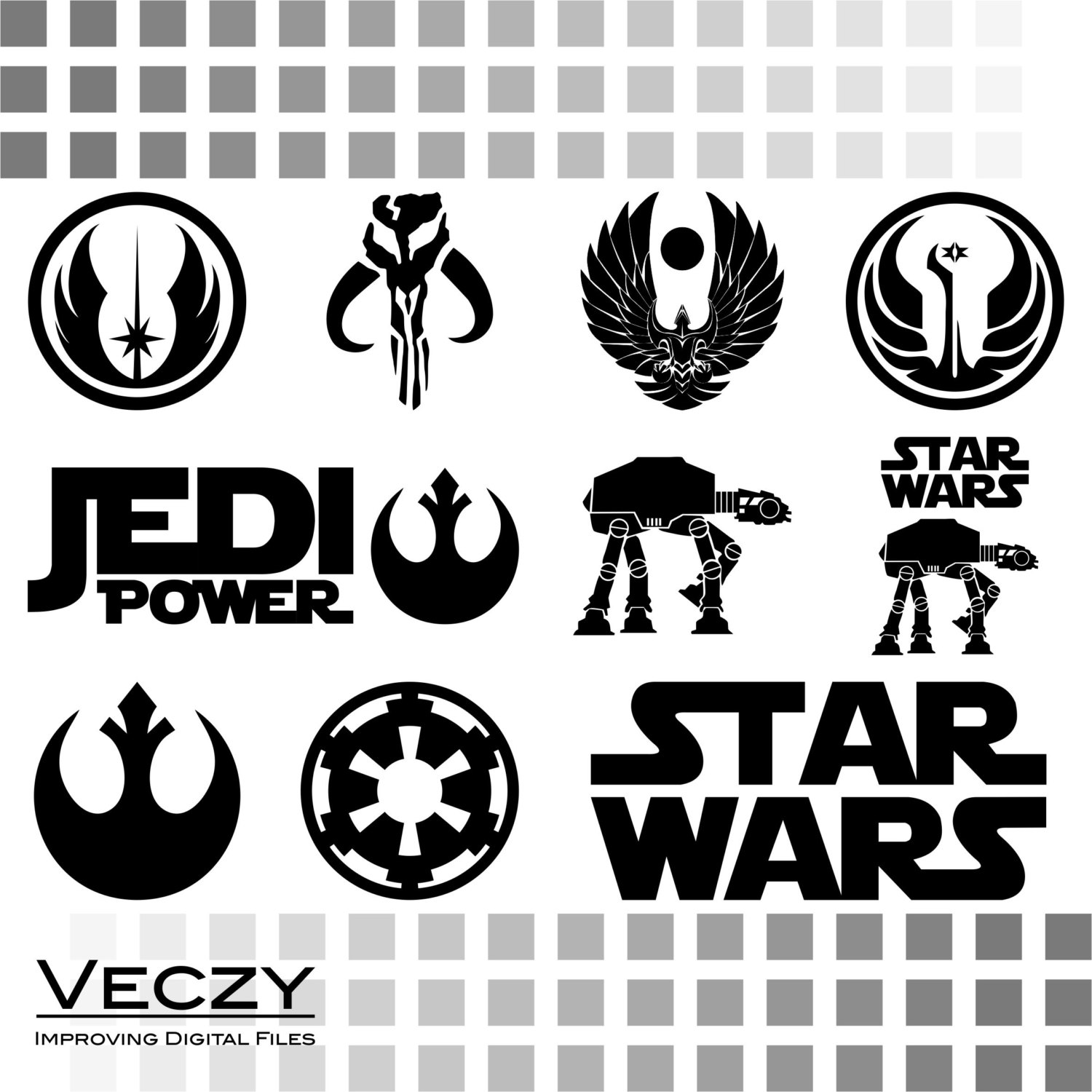 Star Wars clipart cricut For for files svg designs