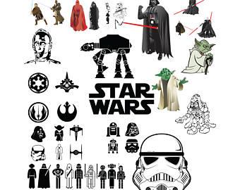 Star Wars clipart cricut Art Clip wars svg Wars