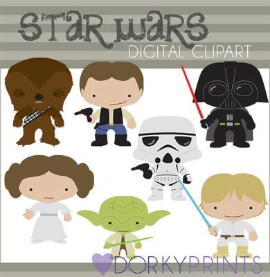 Star Wars clipart doodles On Dorky Wars  Star