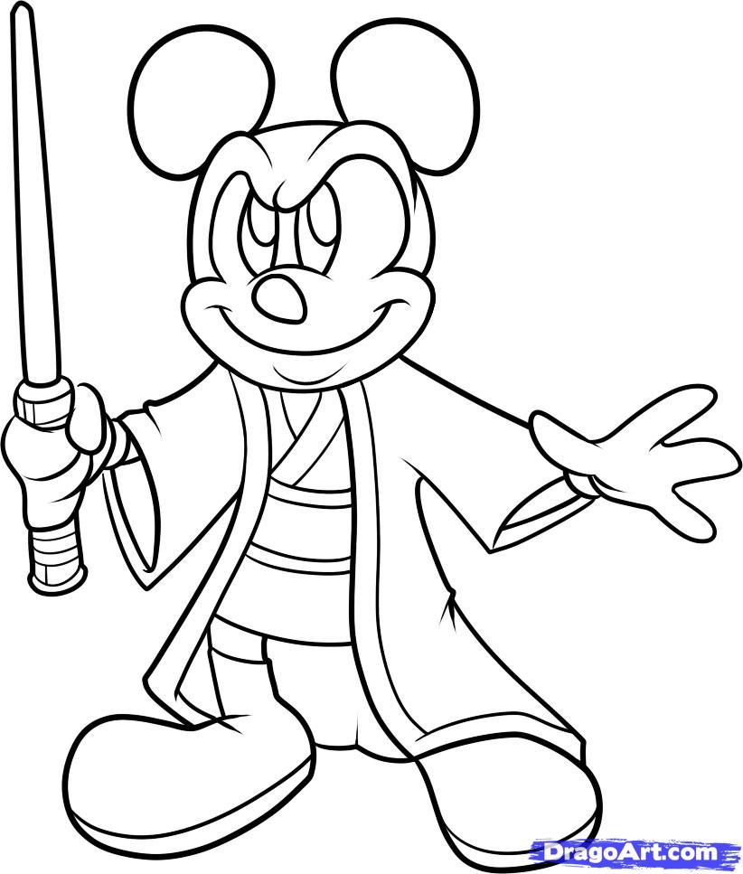 Drawn wars graffito Star Disney Ideas mickey Wars