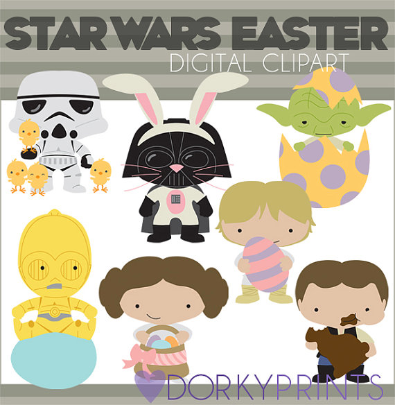 Star Wars clipart easter And Set Easter Clipart Bunny