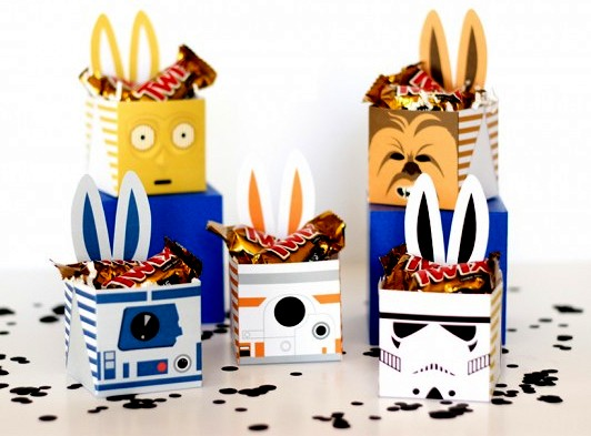 Star Wars clipart easter Boxes! Easter Fiesta! Star Boxes!