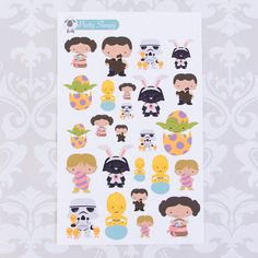 Star Wars clipart easter Stickers Easter Stickers Star Lilo