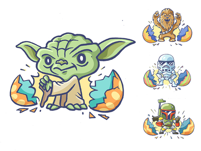 Star Wars clipart easter Star of Wars: 18 Days