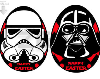 Star Wars clipart easter Etsy Clipart StarWars or Easter