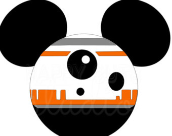 Star Wars clipart family Mouse Mickey Wars Etsy Iron
