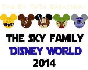 Star Wars clipart family Disney clip birthday star Wars