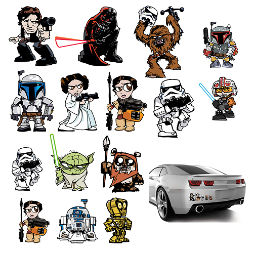 Star Wars clipart family Graphics Villains and Star Wars