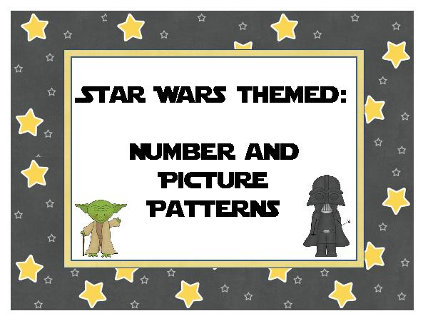 Star Wars clipart frame Picture and and Number Patterns