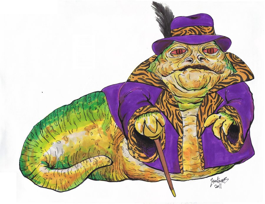 Star Wars clipart jabba the hut Hutt GilCulekoFromHell by the Men