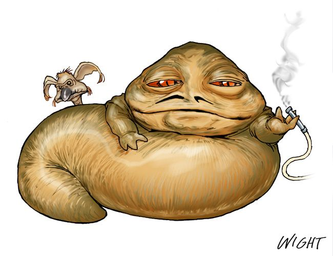 Star Wars clipart jabba the hut 181 Little Jabba Wars Jabba