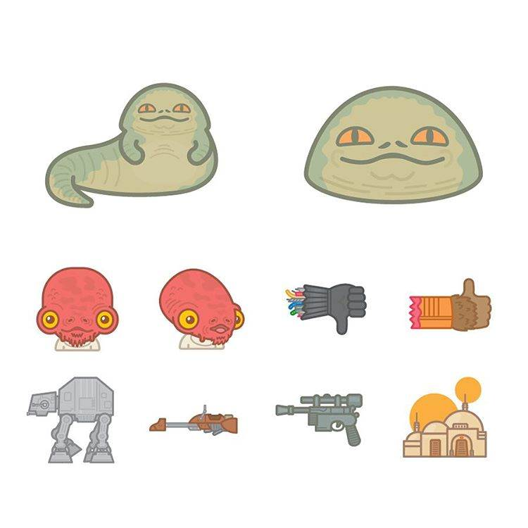 Star Wars clipart jabba the hut You Jabba Emojis Realize the