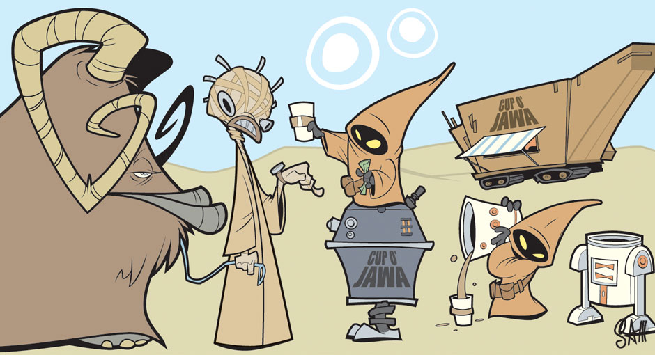 Star Wars clipart jawa At Jawa featured the exclusive