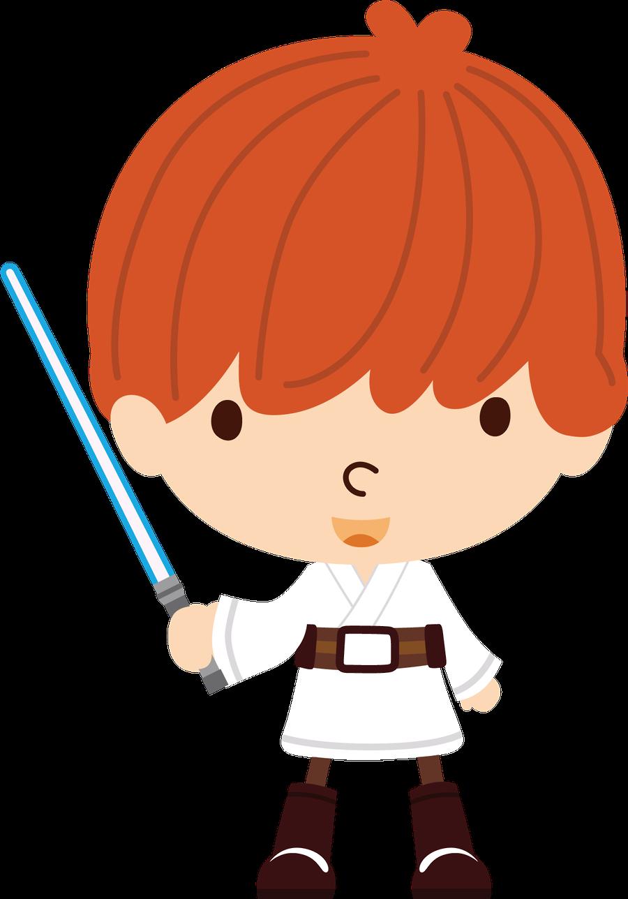 Luke Skywalker clipart baby White Wars snow Pinterest and
