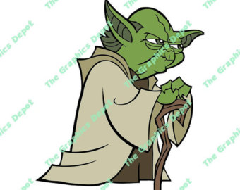 Star Wars clipart joda Yoda Etsy collection wars Yoda