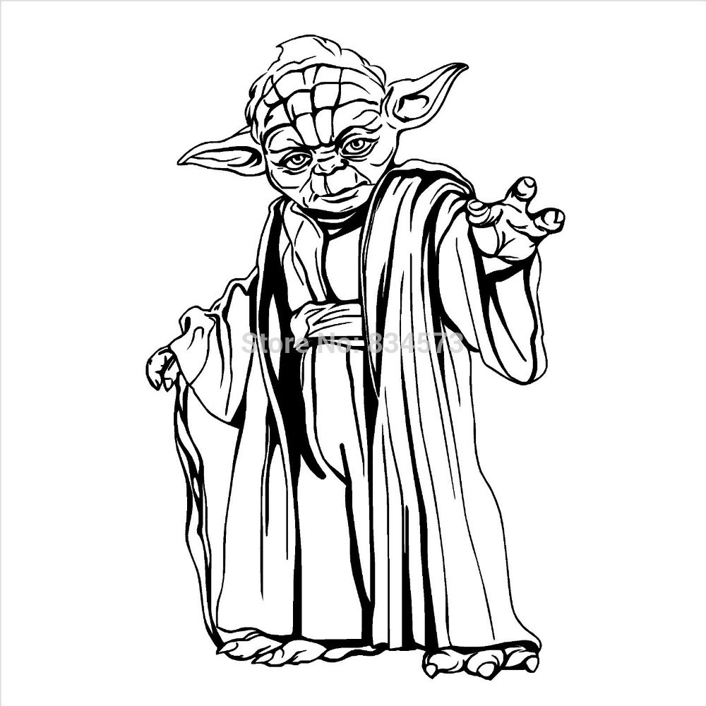 Star Wars clipart joda Clip Yoda Free Outline Free