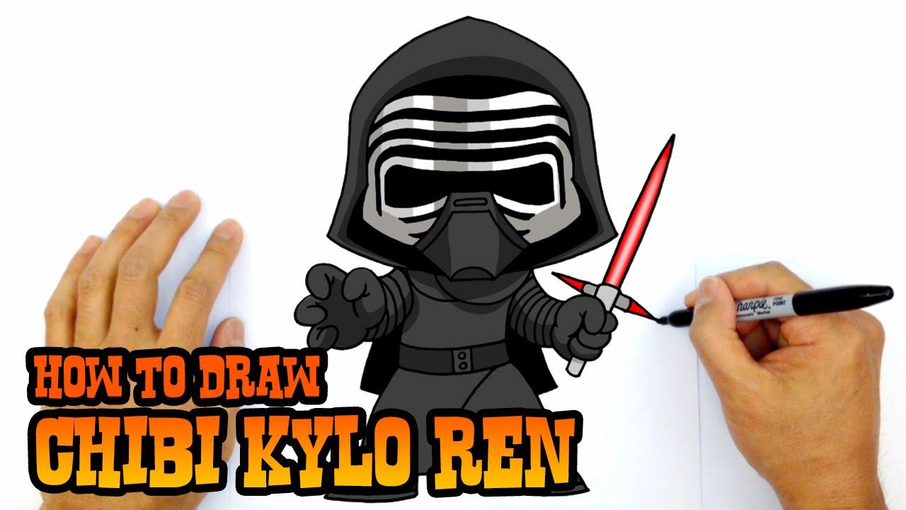 Drawn star wars clipart How Star Draw Ren Kylo