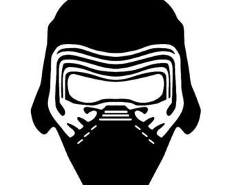 Star Wars clipart mask Star ren wars kylo clipart