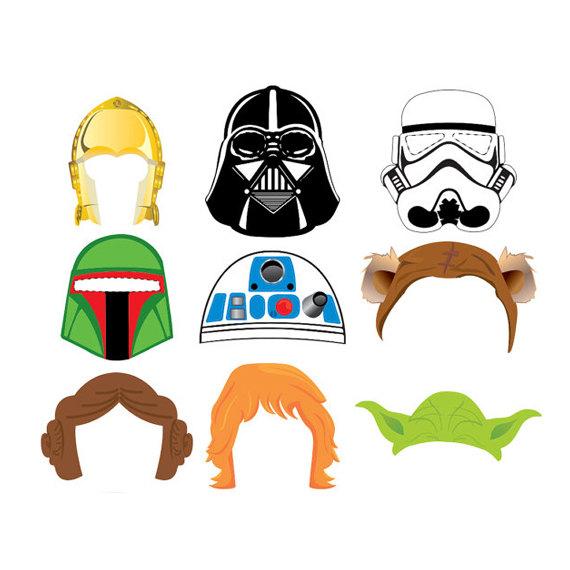 Star Wars clipart mask Darth Wars Etsy Booth wars