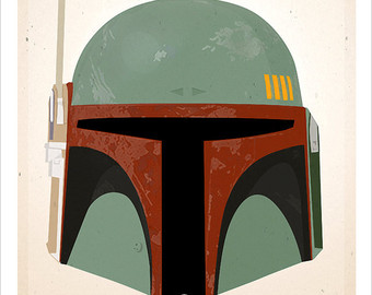 Star Wars clipart mask Fett wars Masks print Fett