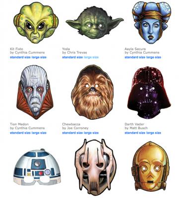Star Wars clipart mask Masks have Star link Free