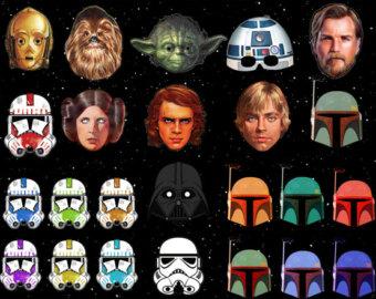 Star Wars clipart mask Free Wars Clip Wars Art