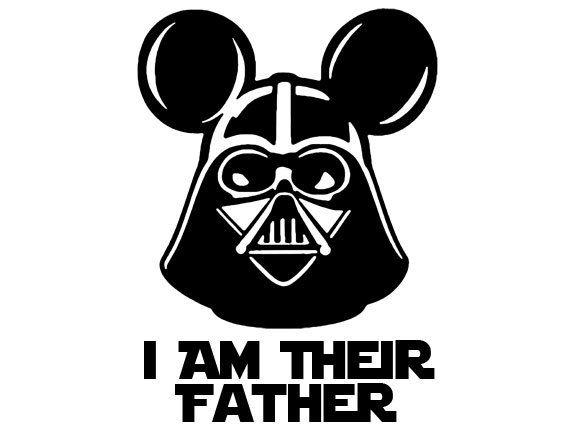 Star Wars clipart mickey ear Star ideas Vader Wars Dad