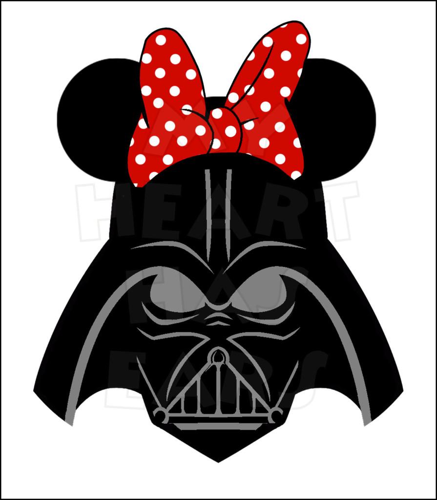 Star Wars clipart mickey ear Iron ears ears digital on