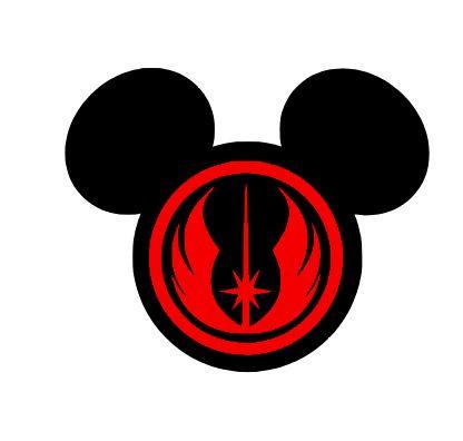 Mickey Jedi Clipart Free Clipart
