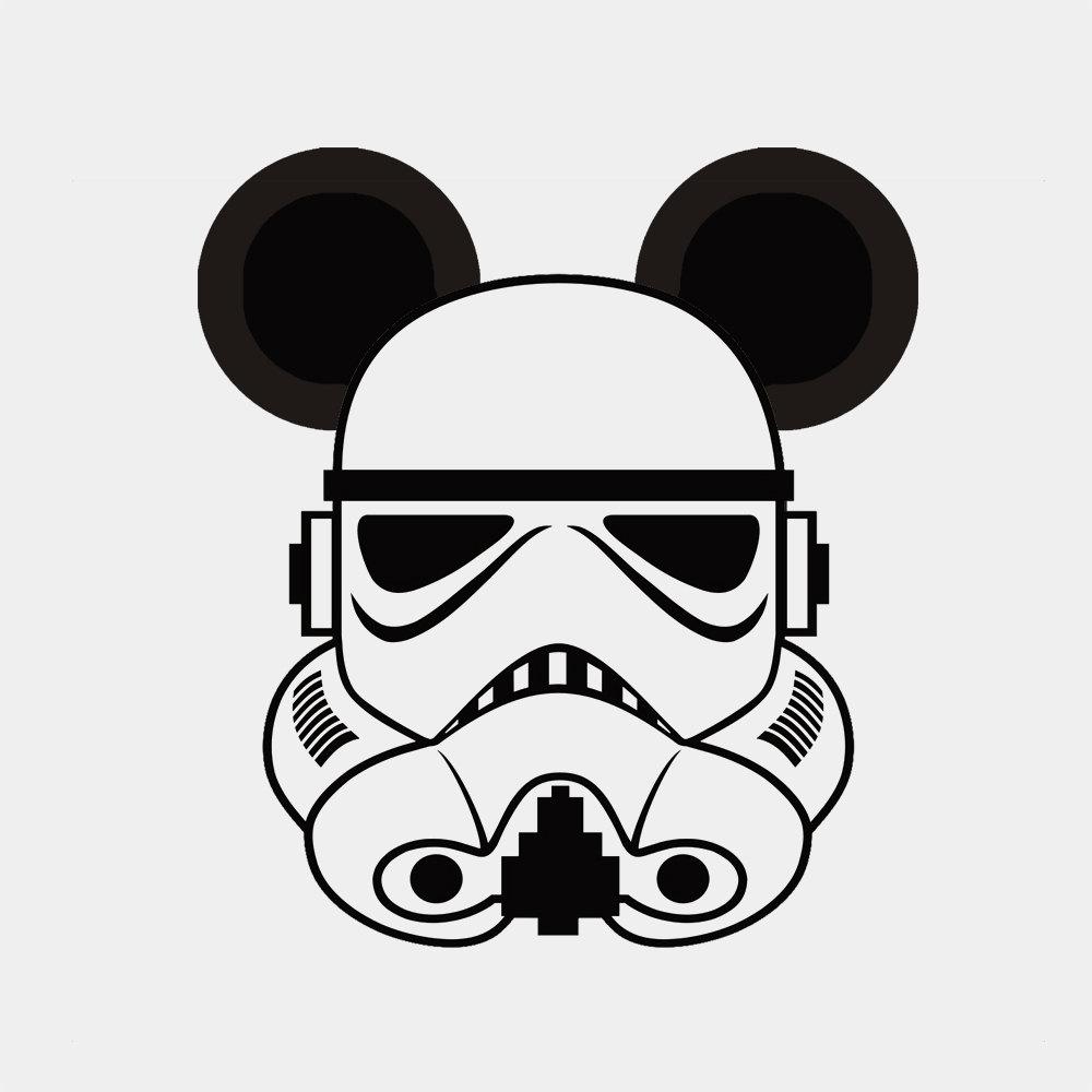 Star Wars clipart mickey head Star Mickey Family  Stormtrooper