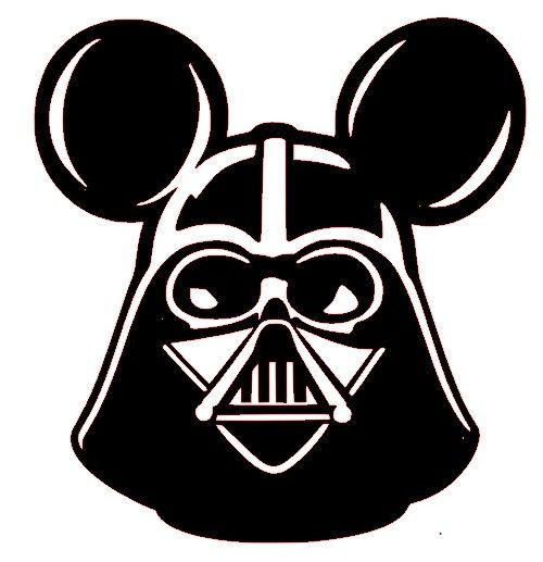 Star Wars clipart mickey head Walt images World Mickey on