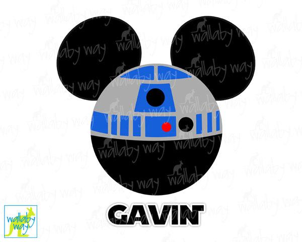 Star Wars clipart mickey head Iron Mickey On Transfer Disney