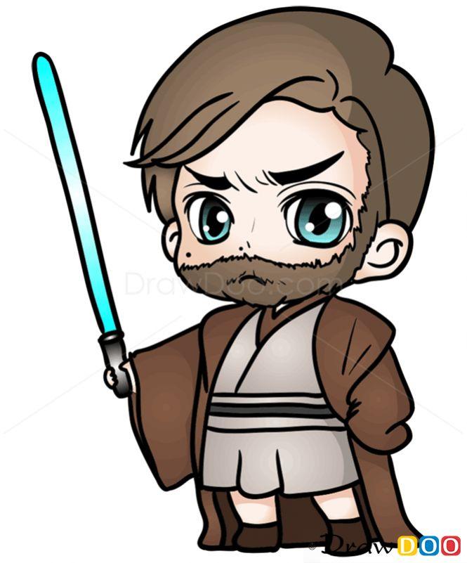 Drawn star wars clipart To Obi wan 25+ Draw