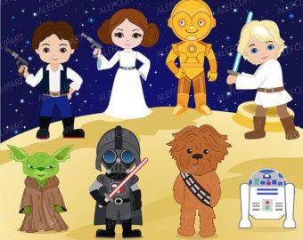 Star Wars clipart teacher Space SALE 50% wars ClipArtopia