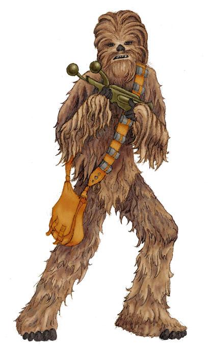 Star Wars clipart wookie Bigfoot Wookiee! Real Wars Star