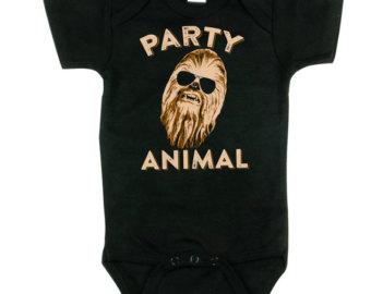 Star Wars clipart wookie Etsy Bodysuit Chewy Chewie Chewbacca