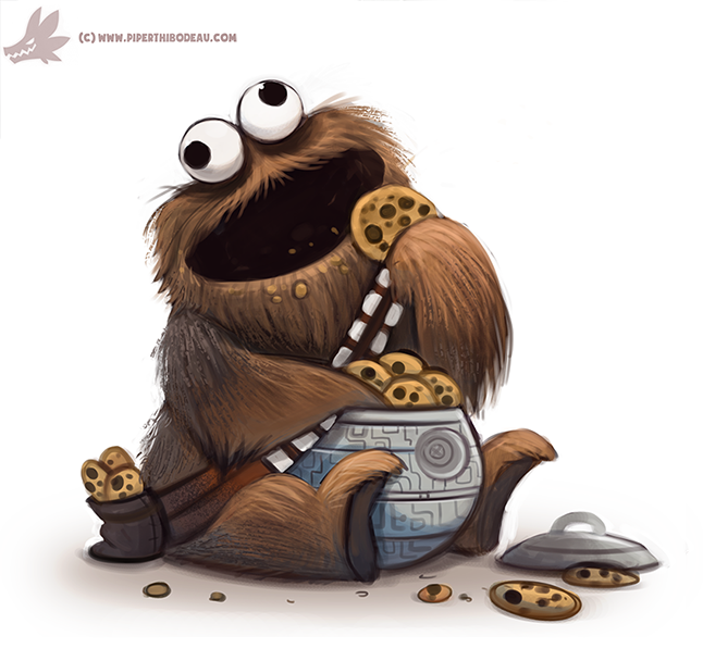 Star Wars clipart wookie By Daily Paint Creations by