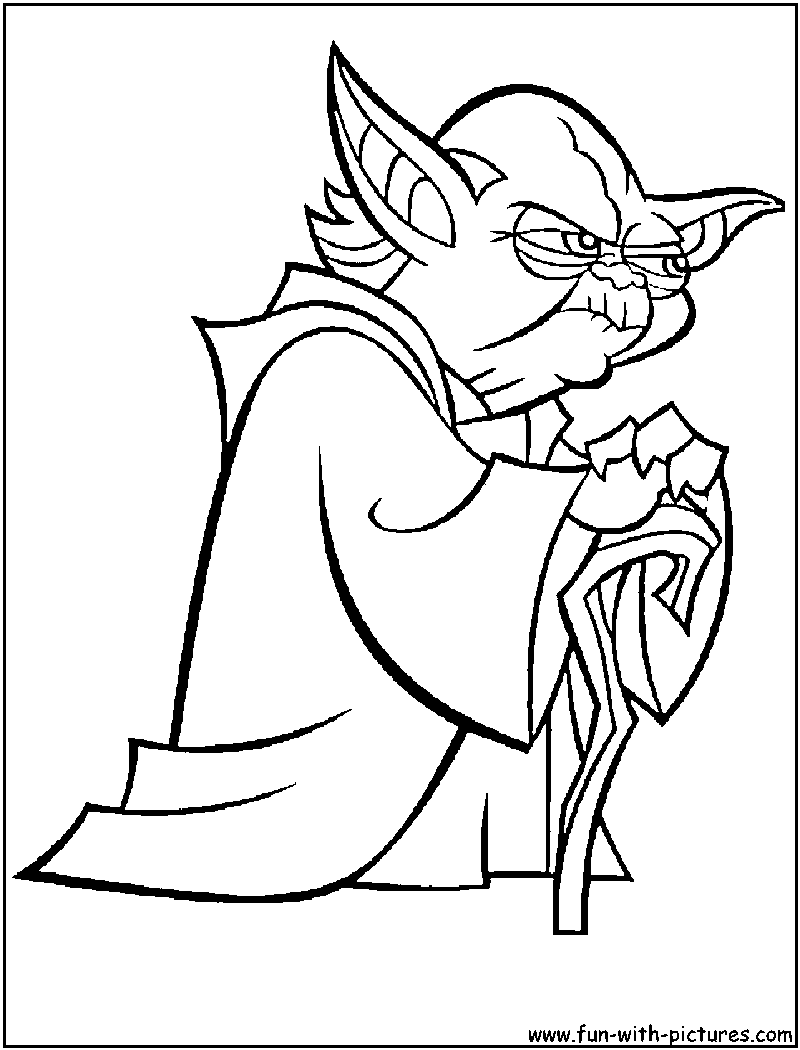 Star Wars clipart yoda Clipart Clipart Coloring White White