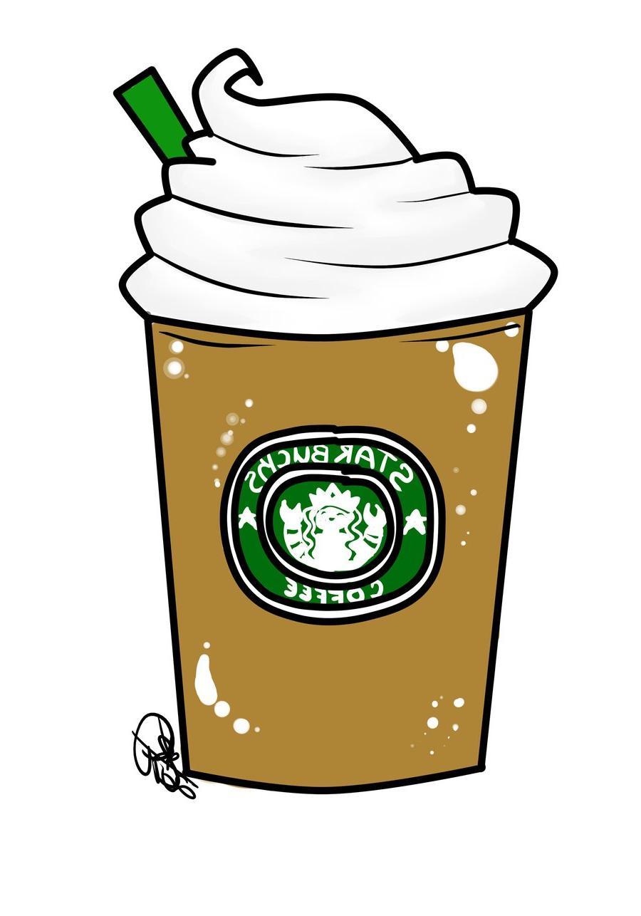 Starbucks clipart  Clipart Unique Drawing Starbucks