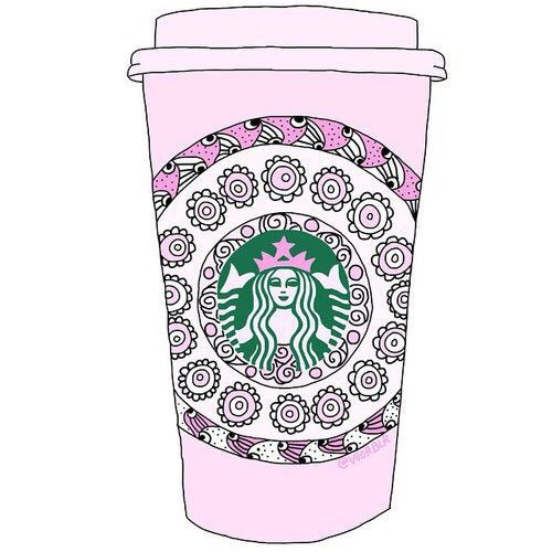 Starbucks clipart overlays transparent Pin Starbucks on marie_ra09 by