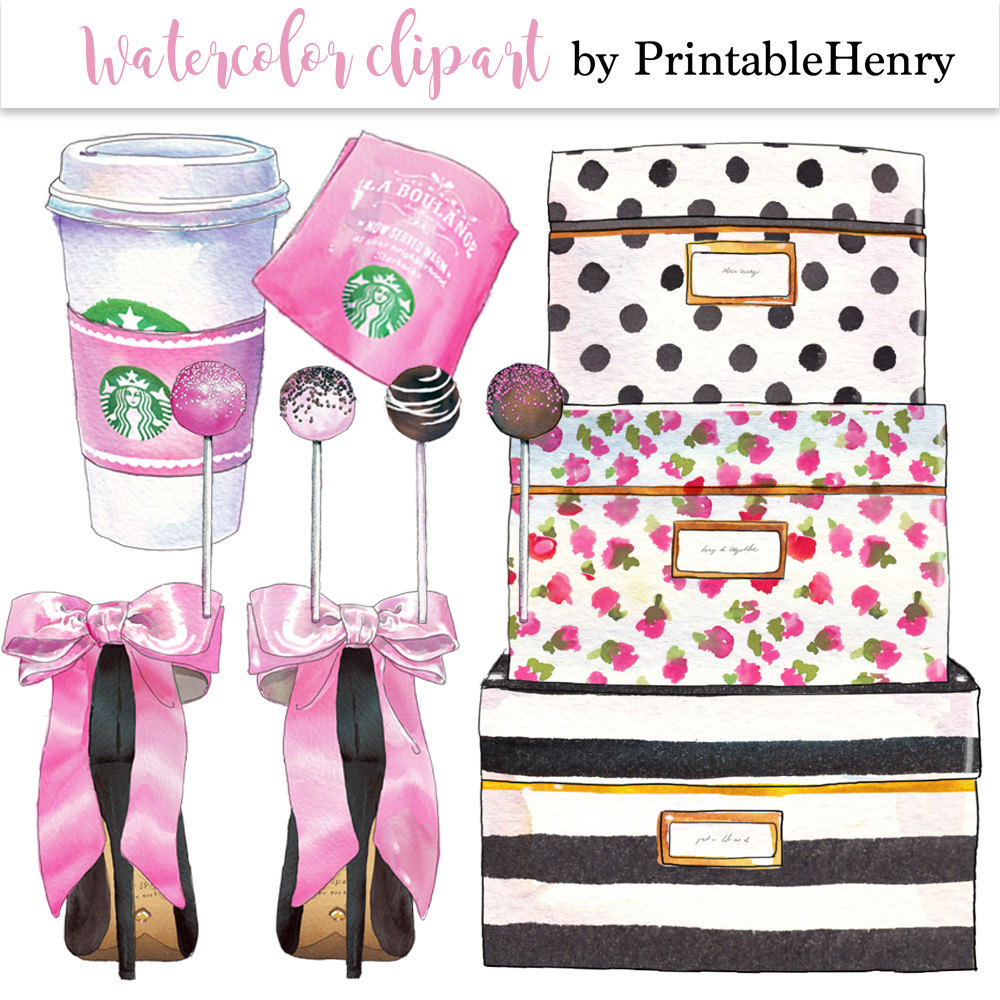 Pink clipart starbucks  clipart fashion is fashion