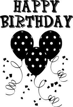 Classy clipart happy birthday Wish 4 Birthday time words