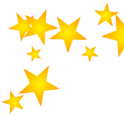 Stars clipart Downloadable Borders and Art Borders