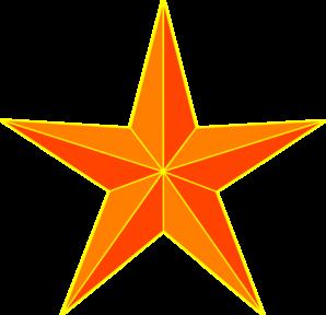Stars clipart orange Art at Clip vector
